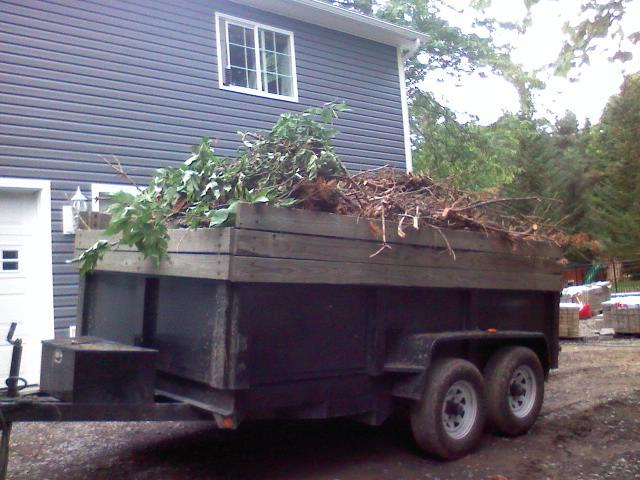 Grassmasters Landscaping Hauling Project 2
