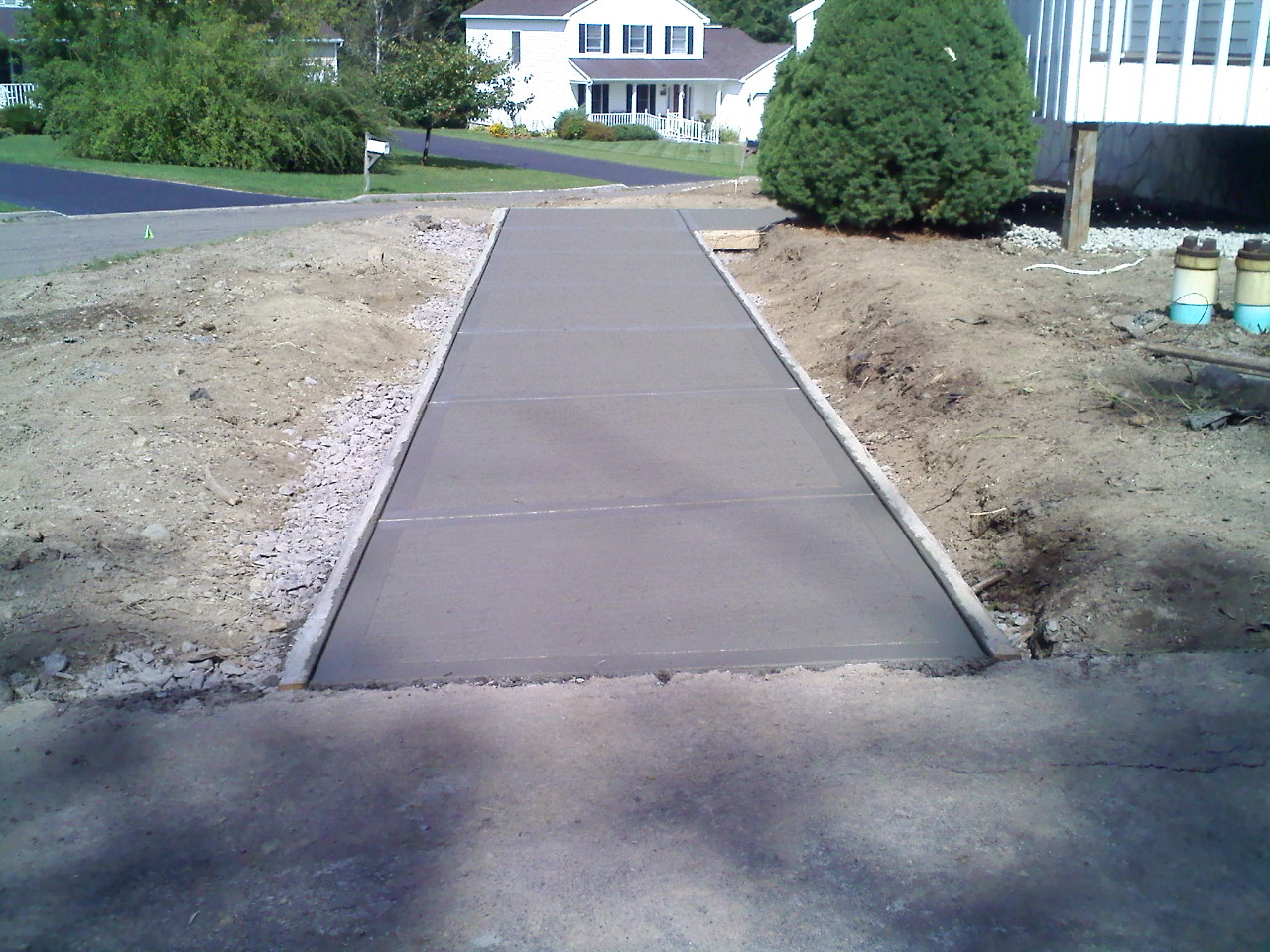Grassmasters Landscaping Concrete Work Project 4