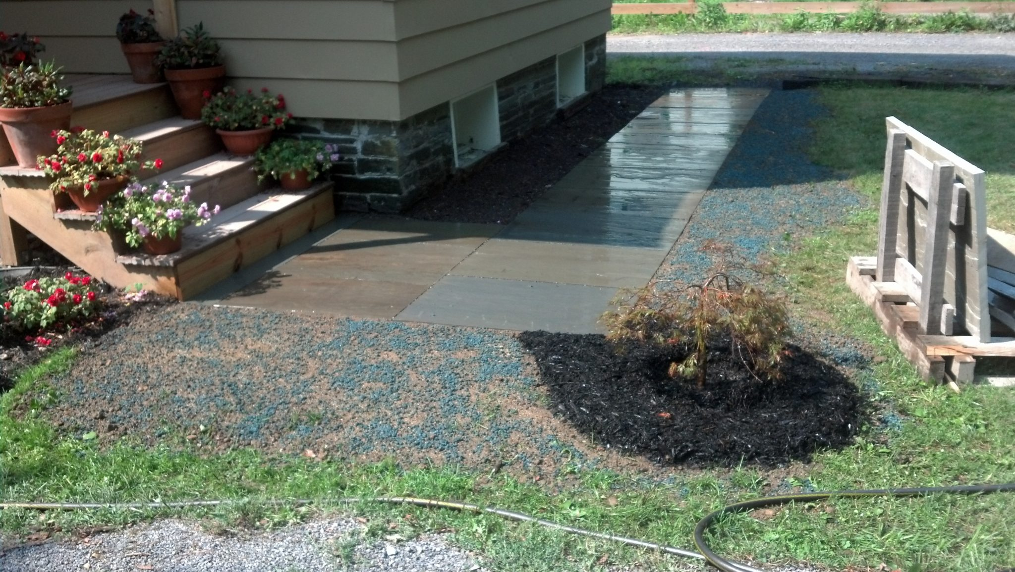Grassmasters Landscaping Walkway Project 2