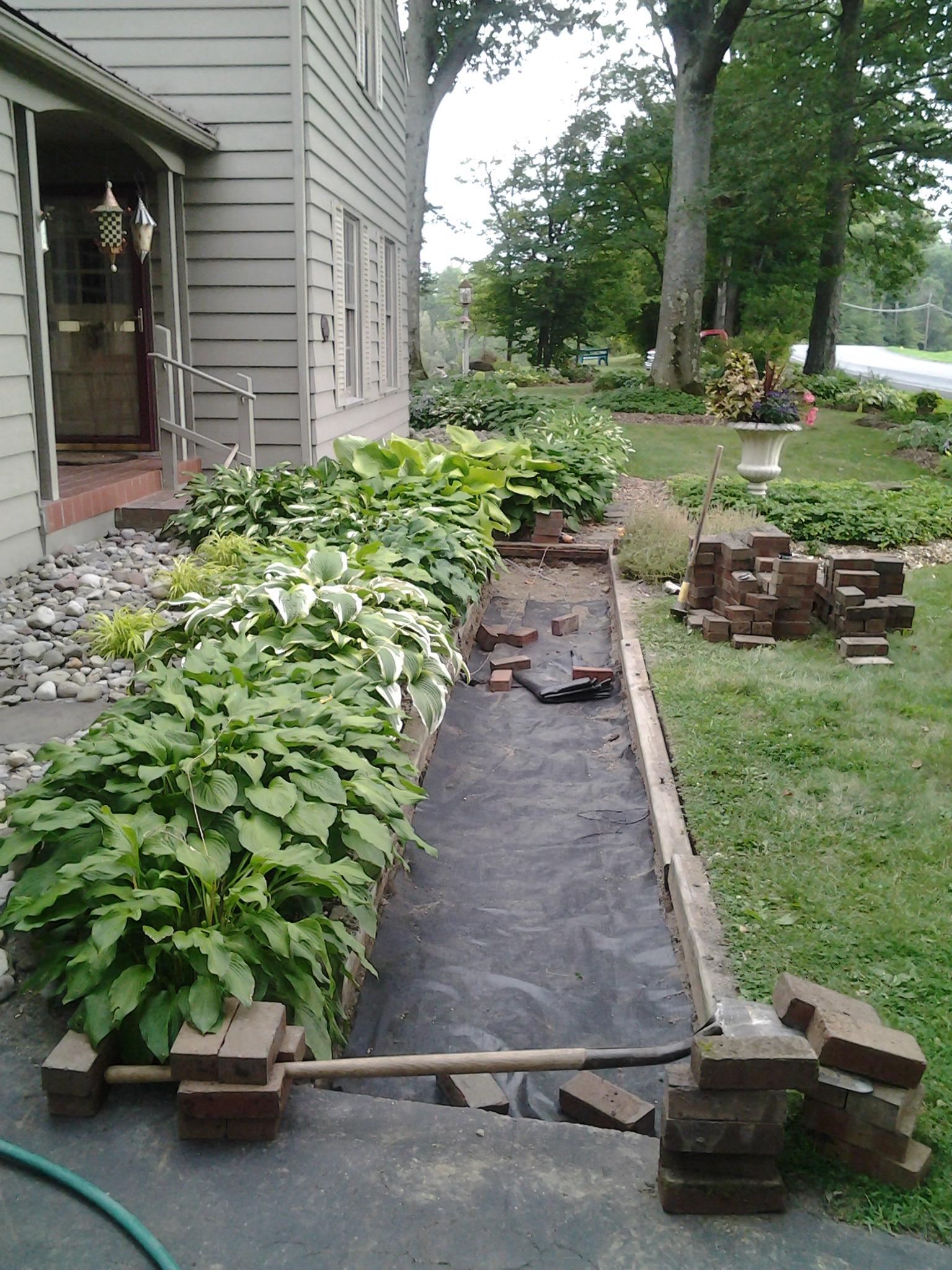 Grassmasters Landscaping Work in Progress