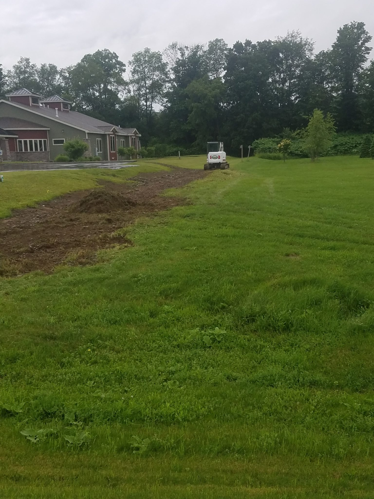 GrassMasters Landscaping Excavation Work Project