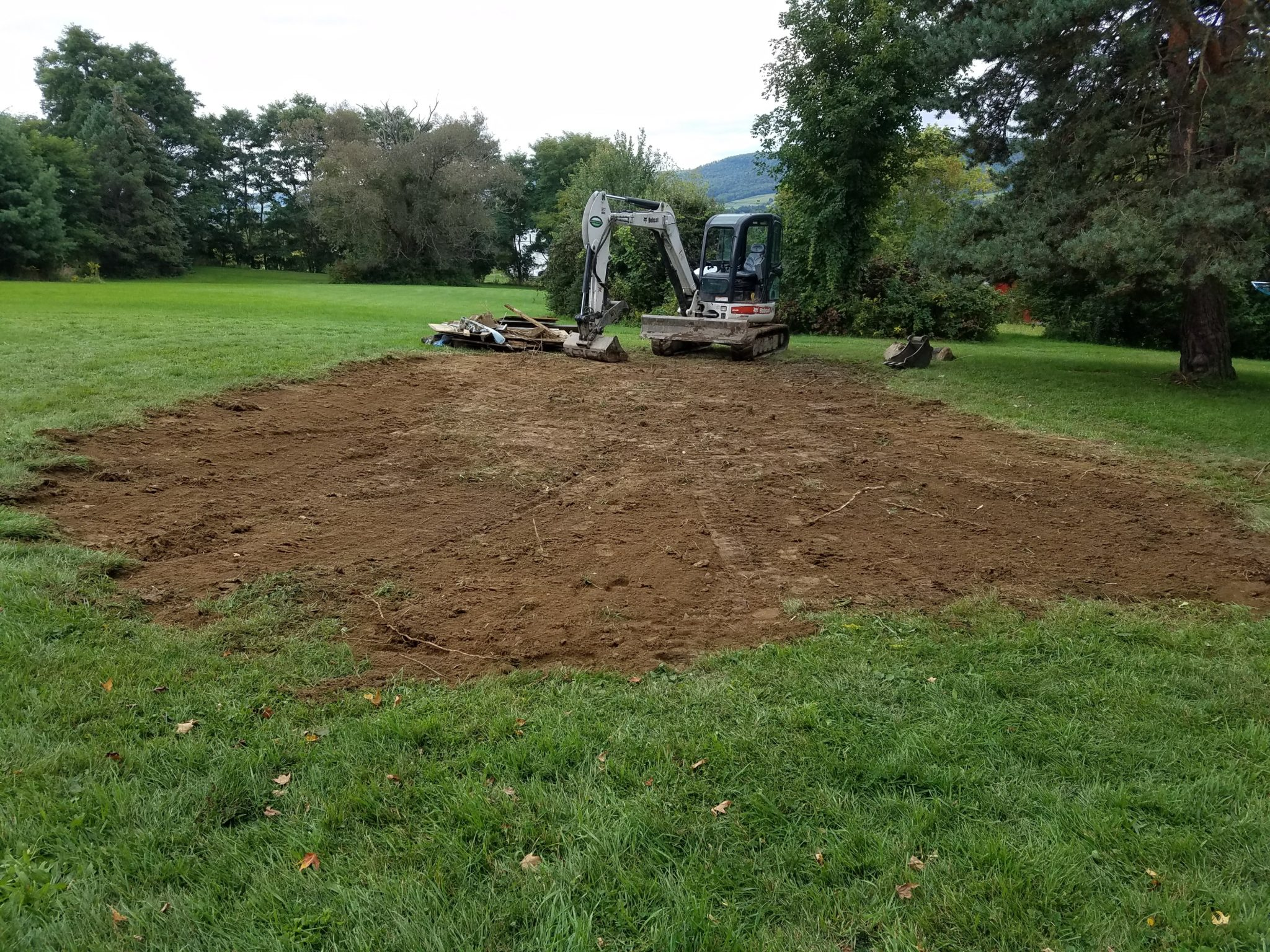 GrassMasters Landscaping Excavation