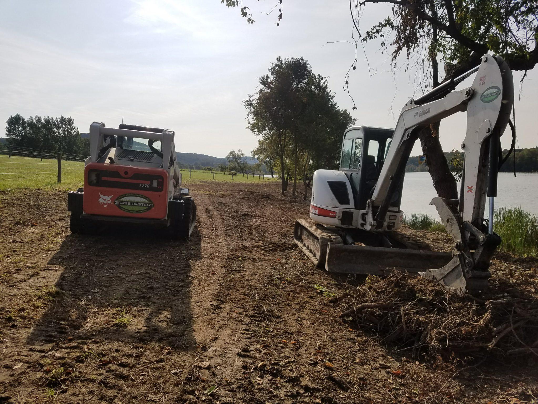 GrassMasters Landscaping Excavation