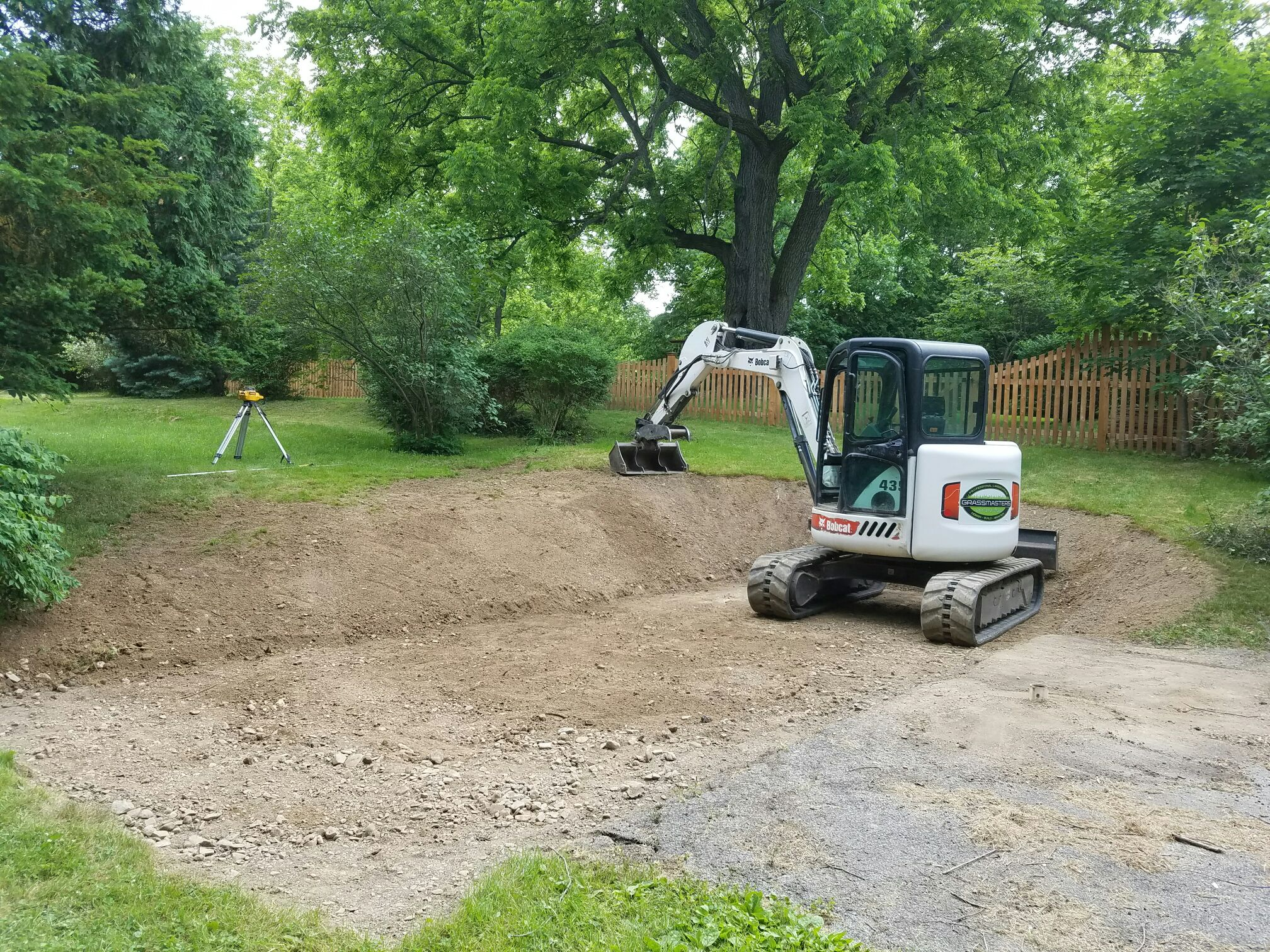 GrassMasters Landscaping Excavation Project