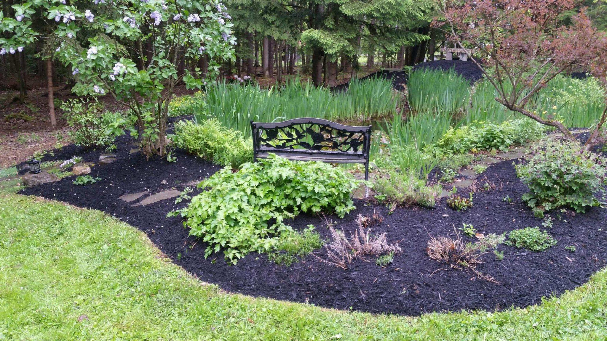 Grassmaster Landscaping Mulching Project