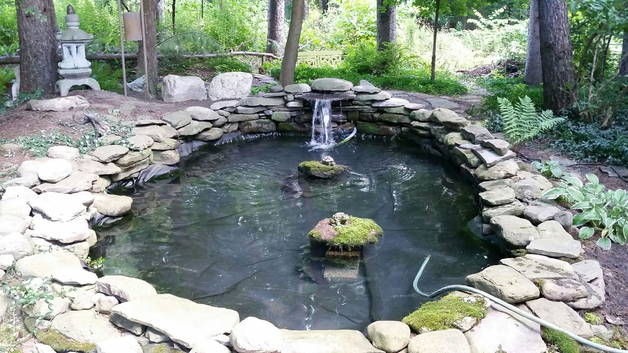 Grassmaster Landscaping Pond Project