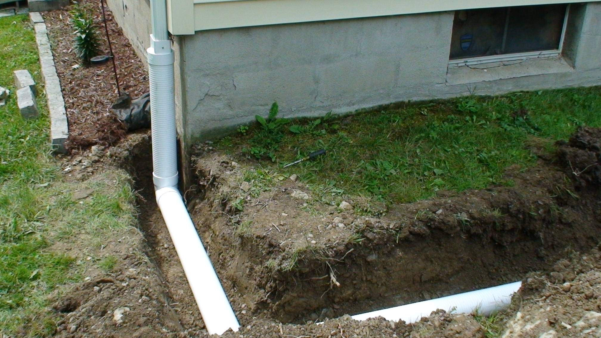 Grassmasters Landscaping Drainage Project 4