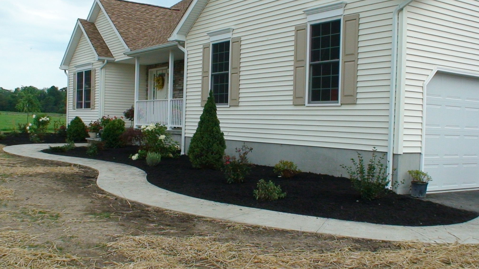 Grassmasters Landscaping Concrete Work Project 3