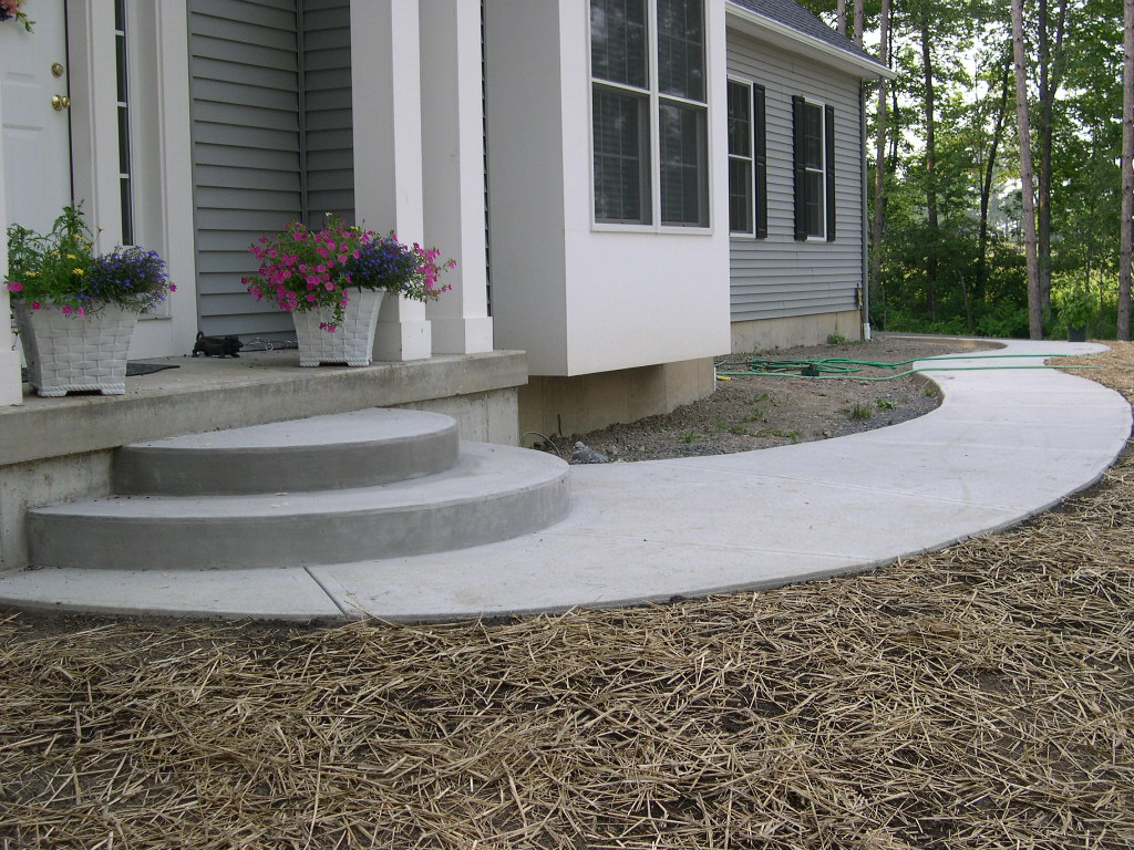 Grassmasters Landscaping Concrete Work Project