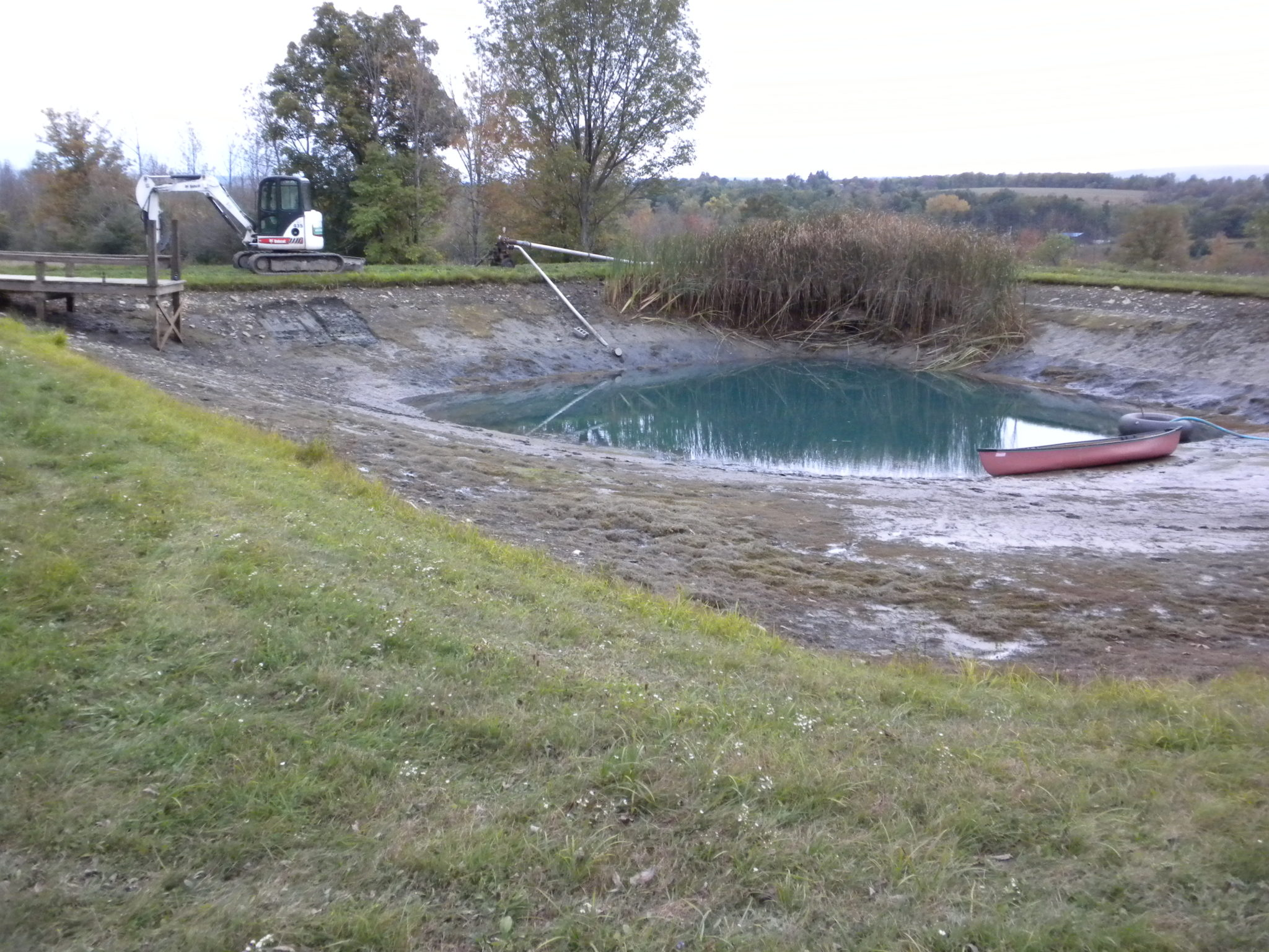 Grassmasters Landscaping Pond Project 1