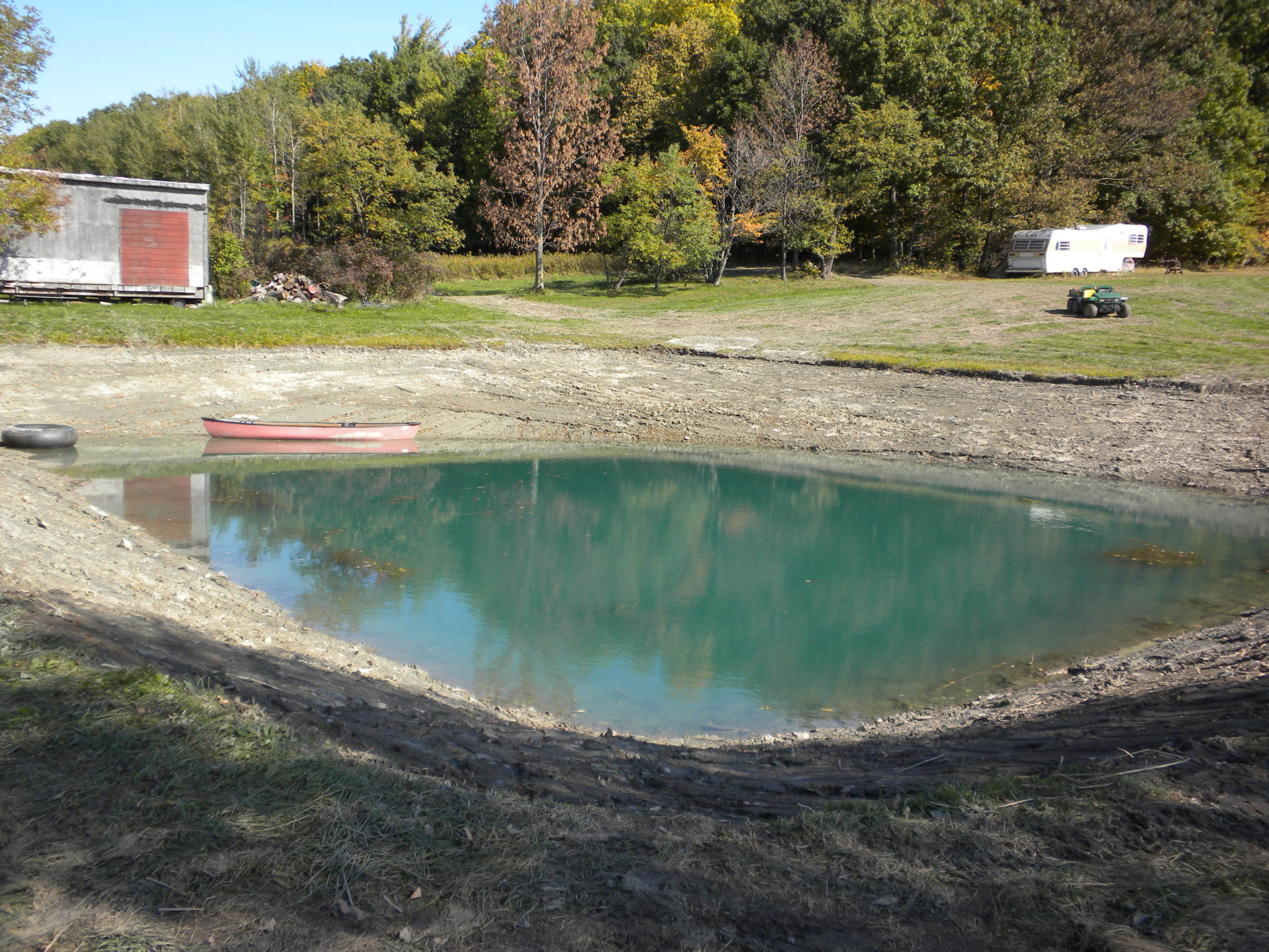 Grassmasters Landscaping Pond Project 3