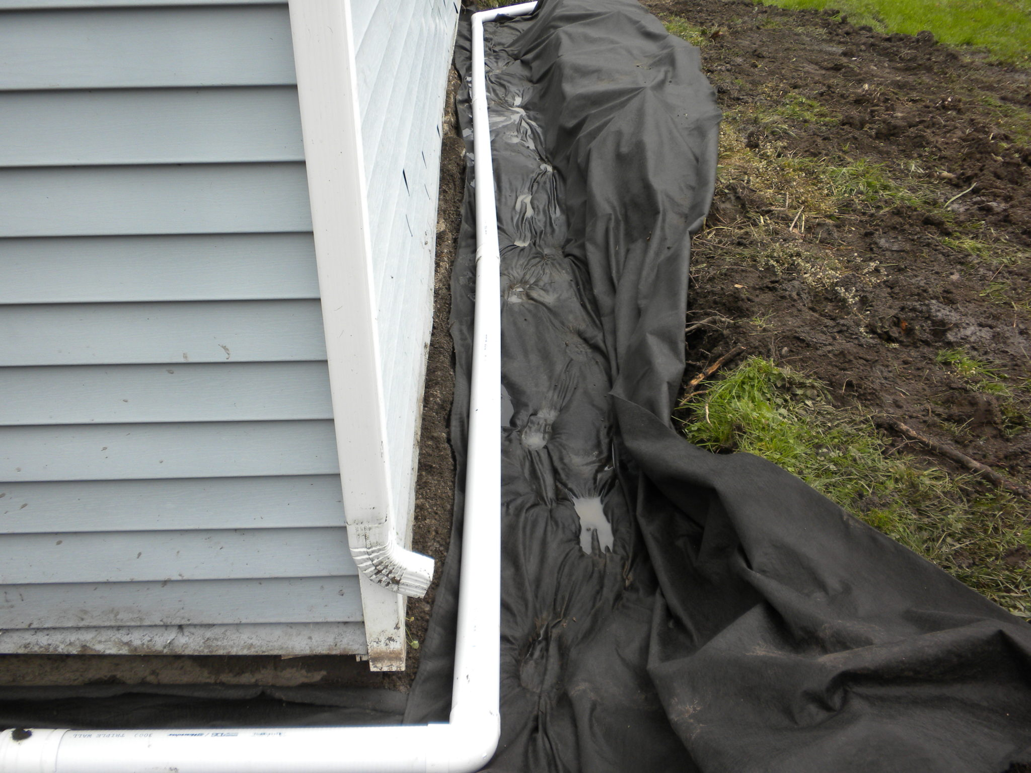 Grassmasters Landscaping Drainage Project 9