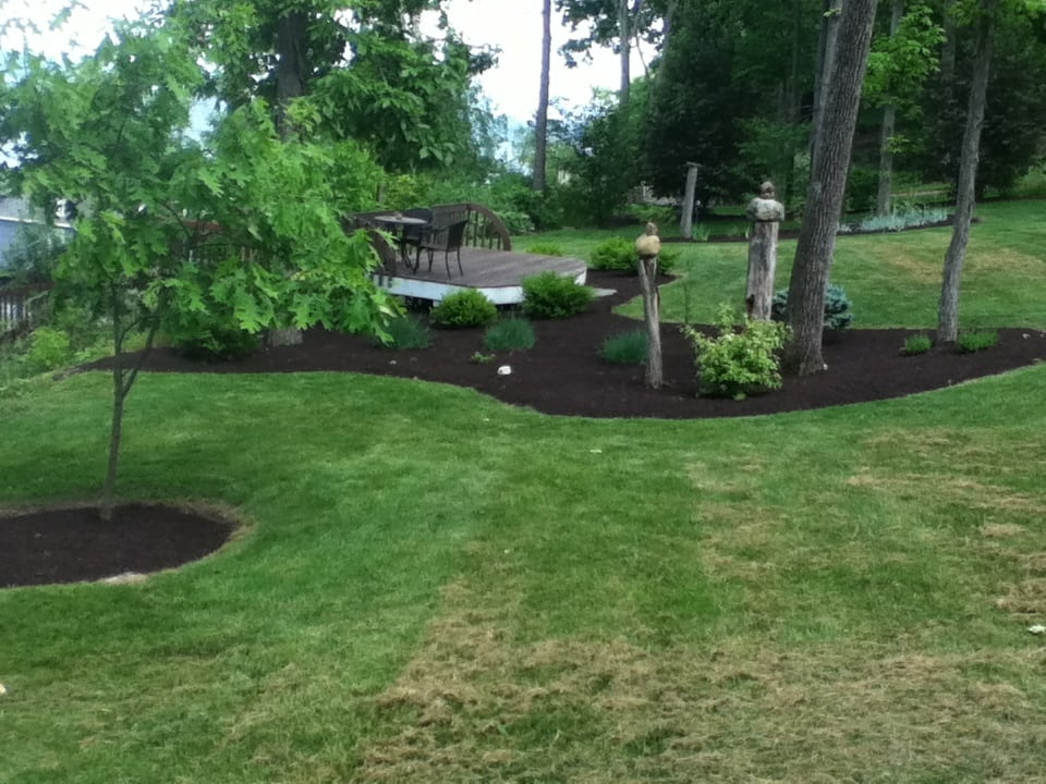 Grassmasters Landscaping Mulching Project 7