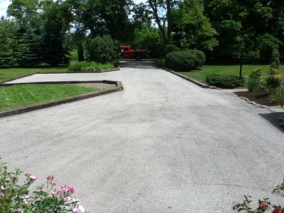 GrassMasters Landscaping Driveway Project