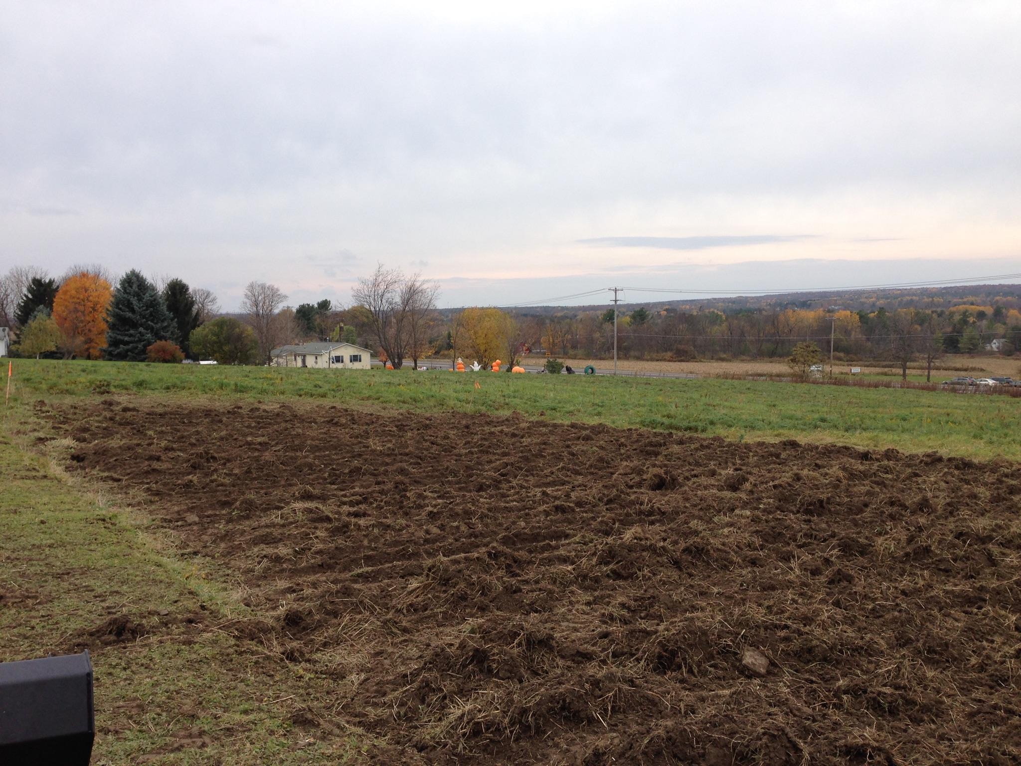Grassmasters Landscaping Rototilling Project