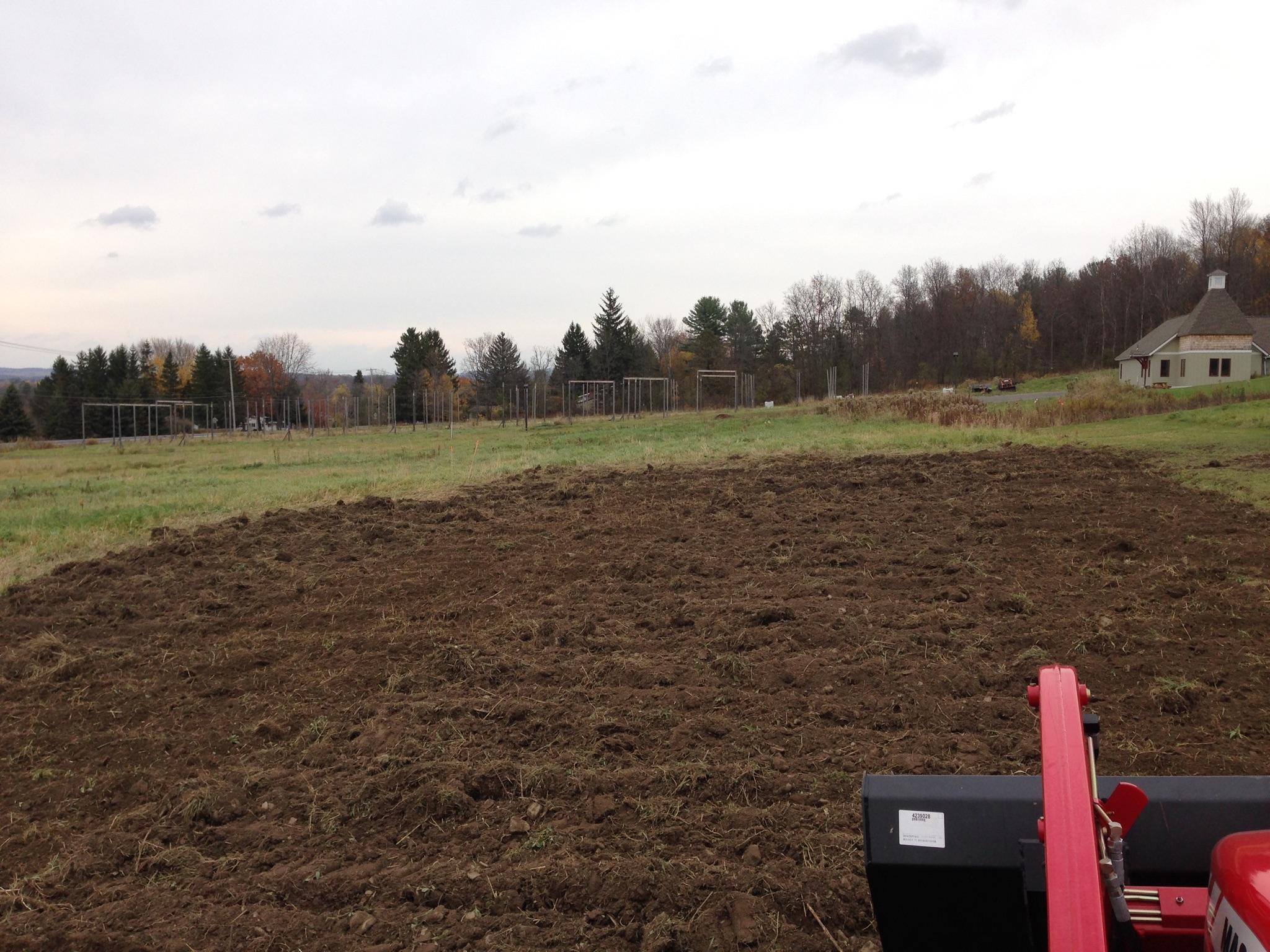 Grassmasters Landscaping Rototilling Project 2