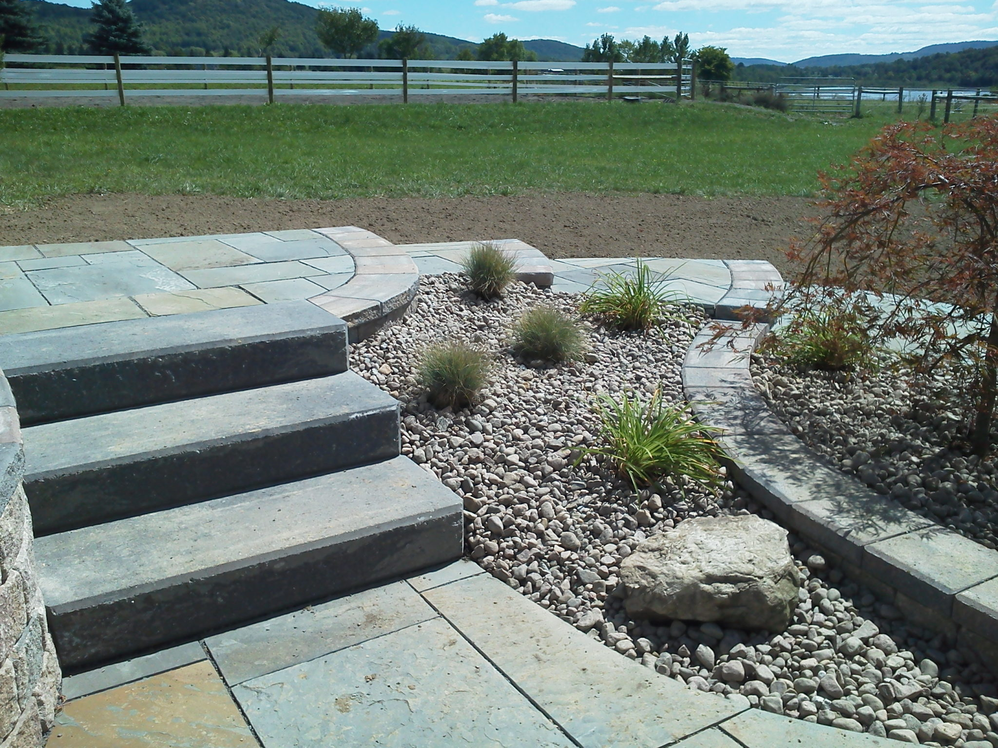 Grassmaster Landscaping Walkway Project