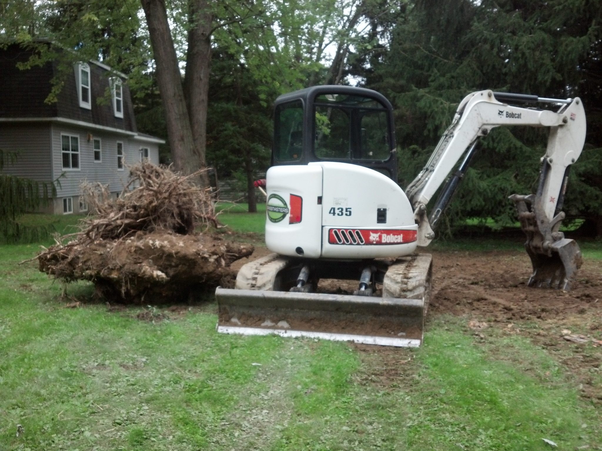 Grassmasters Landscaping Excavation Project 2