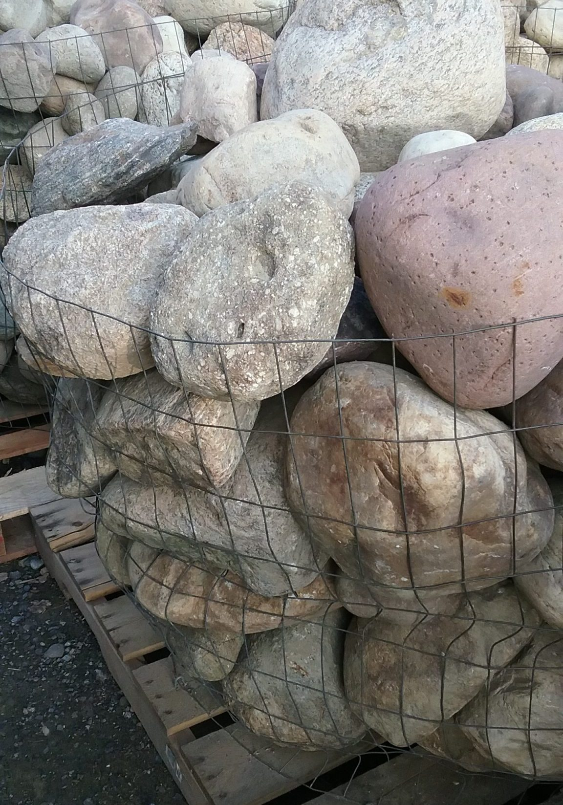 Landscape Accent Boulders (Small) At GrassMasters Landscaping