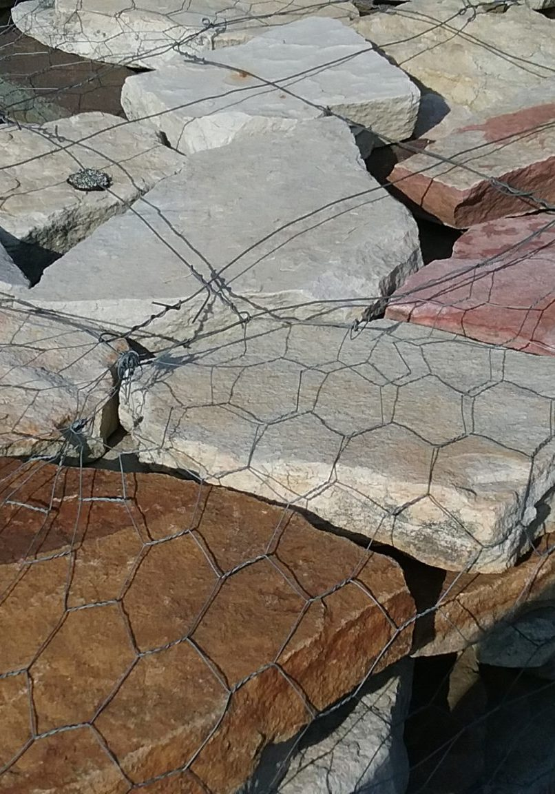White Mountain Wall Stone (Irregular) At GrassMasters Landscaping